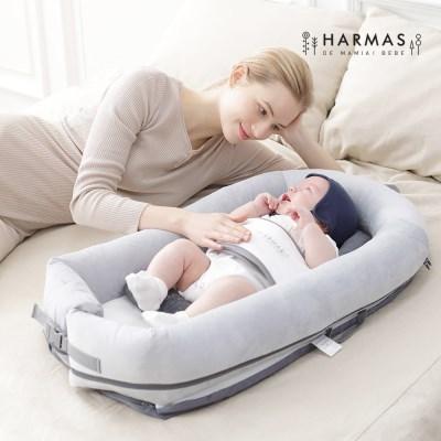 [알마드마미아이베베] 휴대용 아기 침대+임산부바디필로우증정