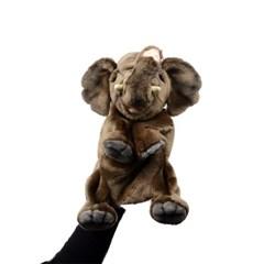 4040-코끼리 퍼펫인형(손인형) 24cm.H_(1279302)