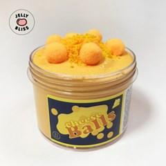 [젤리블리스] 치즈볼 슬라임/슬라임글루/퐁말/치즈&피넛버터향/250ml