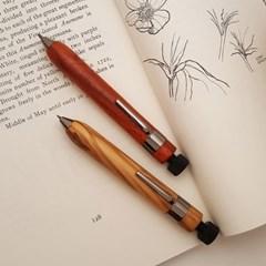 Namo 큐티 우디 펜슬, 2mm 연필 심, 이니셜 각인, 아트 펜슬