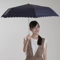[PARASOL] sun shade combi scallop mini  (양산/우산 겸용)