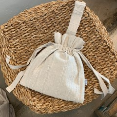 스트랩토트백 Strap tote bag - Linen Beige