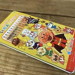 [수입 정품]new귀여운 호빵맨 친구들 색연필12색-069622