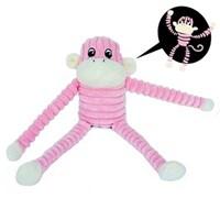 지피포우즈 긴 팔 원숭이인형 - 핑크