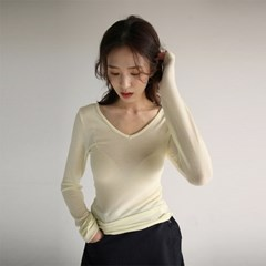 reverse slim tencel tee (4colors)_(1160906)