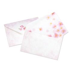 디원 벚꽃패턴 편지지 (JL-28)