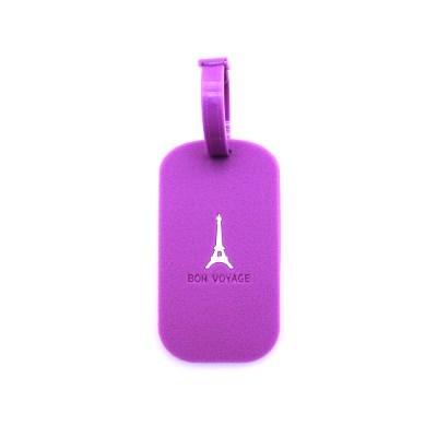 퍼플 에펠탑 트래블 네임텍