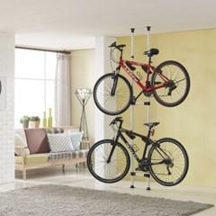 자전거 수납거치대 2단