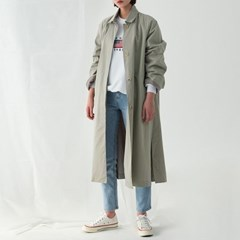hidden button trench coat_(1138209)