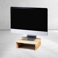 소나무 원목 미니 컴퓨터 모니터받침대 HDM-801