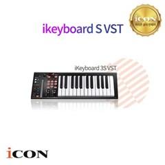 [ICON] 아이콘키보드 IKEYBOARD 3S VST (PRODRIVE) 마스터키보드/25