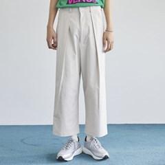 pintuck cotton crop pants (3 color) - men_(1175378)