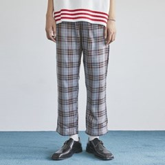 standard check banding pants (2 color) - men_(1175367)