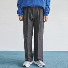 straight pintuck long cotton pants (2 color) - men_(1175362)