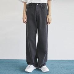 retro wide washing denim pants (2 color) - men_(1175355)