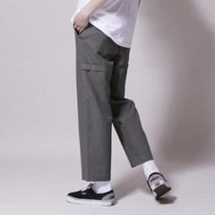PL061_UBDTY Linen Banding Pants_Khaki