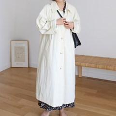 Margaret single trench coat