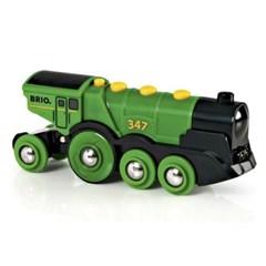브리오 전동 기관차-그린-33593