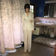 cozy stripe pajamas_(1176528)