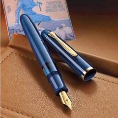펠리칸 M120 아이코닉 블루 만년필_(1095399)