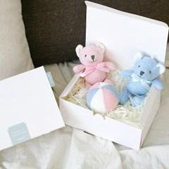 [딸랑이세트] 서커스 베어트윈스&공딸랑이 (출산선물)