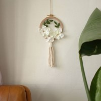 프랑스자수 첫걸음 - 치자꽃 투명자수액자 만들기 DIY KIT