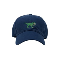 [Hardinglane]Adult`s Hats T-REX on Navy