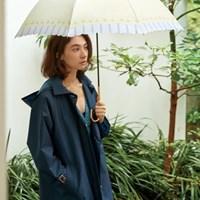 wpc우산 스트라이프 플라워 장우산 17678-09