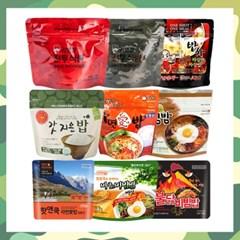 간편하고 맛있는 전투식량 비상식량 즉석밥 모음전