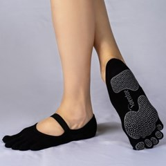 OENTOE STRAP CLOSED TOE - BLACK