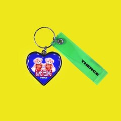 HEART STEEL KEY HOLDER_SAME