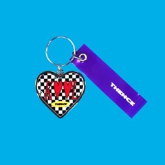 HEART STEEL KEY HOLDER_KOOL