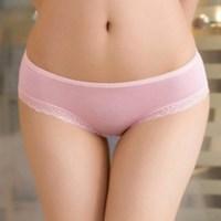 [천연MODAL 레이스 모달 팬티 7color 3size] 여성 면 속옷