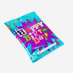 파티봉투 [중] 생일축하해 (10개)