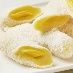 [행복담은식탁] 아이간식 찰떡 바나나찰떡 1.6kg (30gx53알)