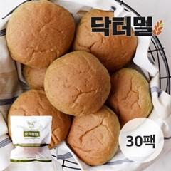 [닥터밀] 오직통밀 쑥모닝빵 30팩_(776846)