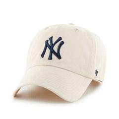 47브랜드 MLB모자 뉴욕 양키즈 내추럴 네이비빅로고