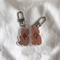 [뮤즈무드] bear key ring (키링)