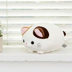 모찌모찌 만두 고양이 인형 삼색이 25CM_(1164727)