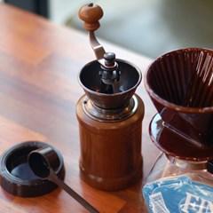 [알럽커피] 원두굵기조절 국민 핸드밀그라인더(KFH-3)