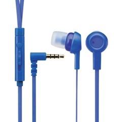 과일 핸즈프리 플랫 이어폰 블루 EHP-CS3520BU-G