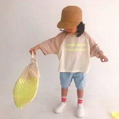 형광프린트 나그랑 티셔츠