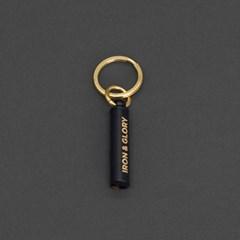 [럭키스] 블랙 휘슬 열쇠고리 자동차 키링 키홀더_(1575123)