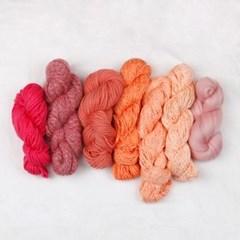 털실패키지 피치&핑크
