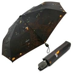 [VOGUE] 보그 3단 자동 우산(양산겸용) - 밤에 부엉이