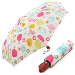 [VOGUE] 보그 3단 자동 우산(양산겸용) - 스위트봉봉