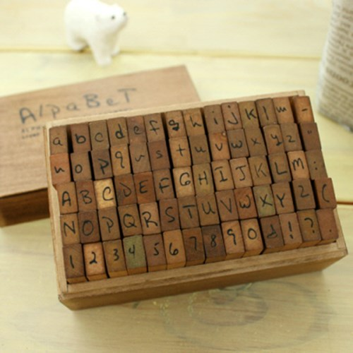 손글씨스탬프 (알파벳(대.소)+숫자)