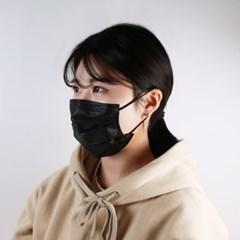 3Q 미국FDA인증 Premium 일회용 마스크 50매입 3중필터