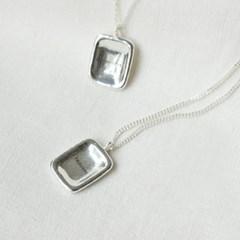 [Obliviate] Square wish necklace