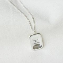 [Mahoken Da Pepeldomoon] Square wish necklace